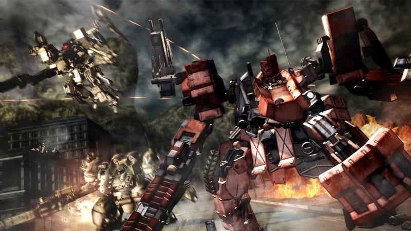 Illustration for article titled A New Look At The Dark And Lovely Armored Core V