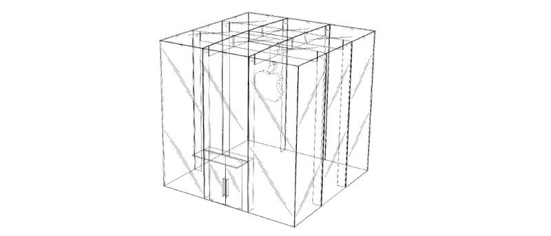 Illustration for article titled Apple Now Has a Design Patent for Its Giant Glass Cube