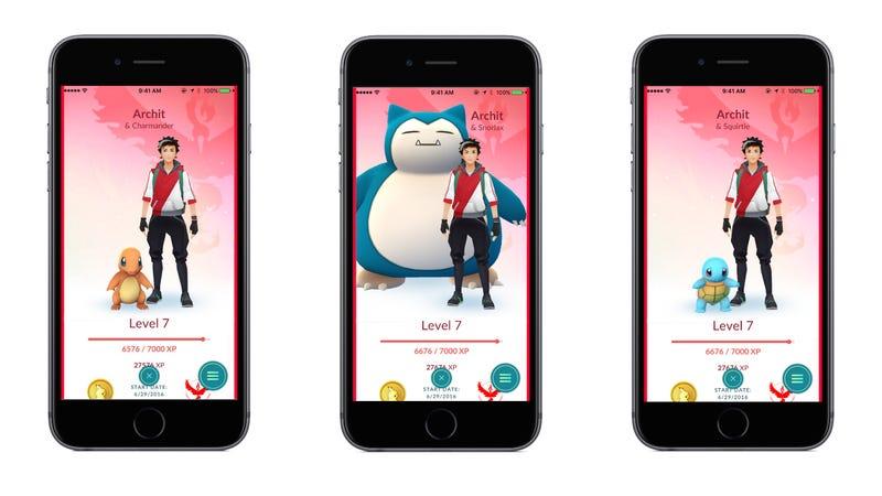 Illustration for article titled Pokémon Go te permitirá llevar tu pokémon favorito a todas partes para ganar más experiencia