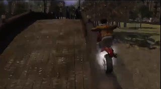 Early Designs Of PS3 Exclusive Infamous Included Motorcycle Parkour