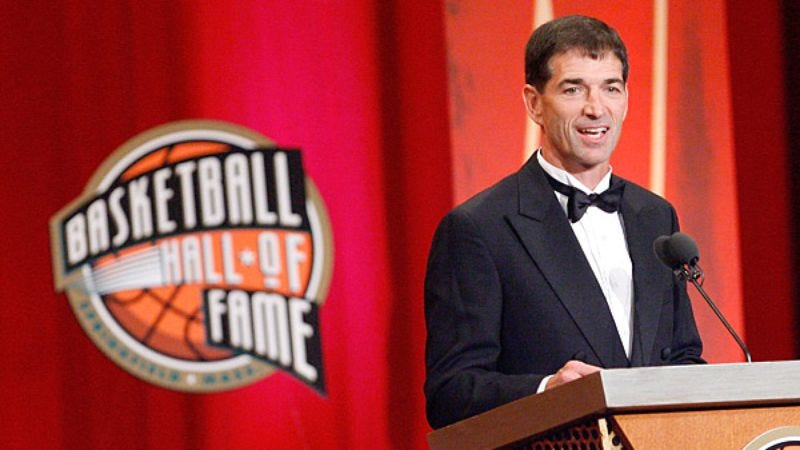 Illustration for article titled John Stockton Assists Hall Of Fame Officials In Setting Up Induction Ceremony