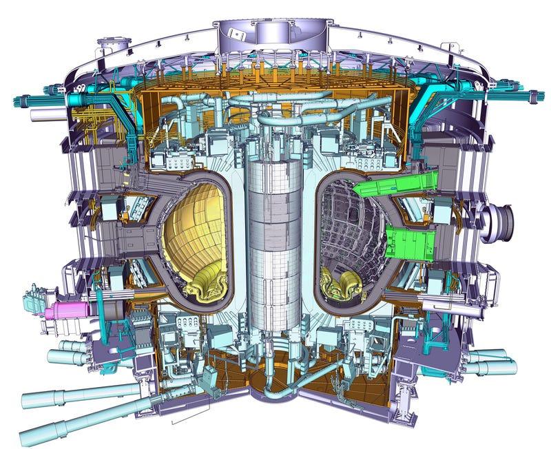 Resultado de imagen de el reactor Tokamak para el proyecto ITER ...