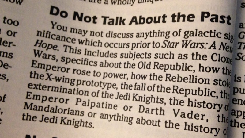Illustration for article titled This 1994 Star Wars Style Guide Proves Hindsight Is a Wonderful Thing