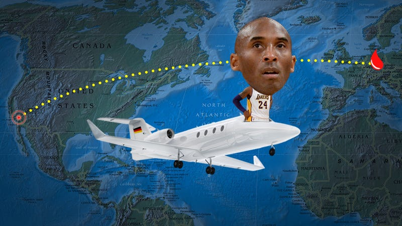Illustration for article titled Is Kobe Blood Doping? What Those Trips To Germany Are Really About