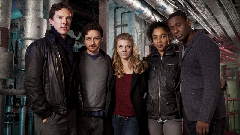 Image: Cast from the recent radio adaptation, BBC