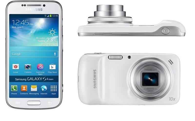 Illustration for article titled Samsung Galaxy S4 Zoom: mitad smartphone, mitad cámara de 16 MP