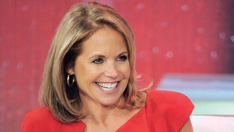 Illustration for article titled Katie Couric pitching a show where Michelle Pfeiffer plays Katie Couric, basically