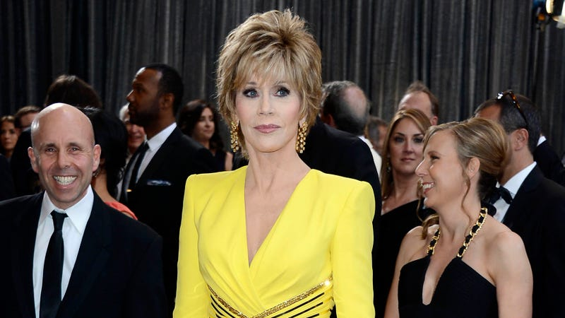 Illustration for article titled Jane Fonda Is Not Pumped About the Boob Song