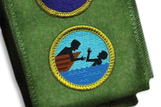 Illustration for article titled Troop Leader Awards Boy Scout With 'Tried To Save Best Friend' Badge