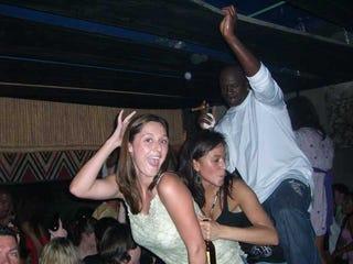 Girls Grinding In Club