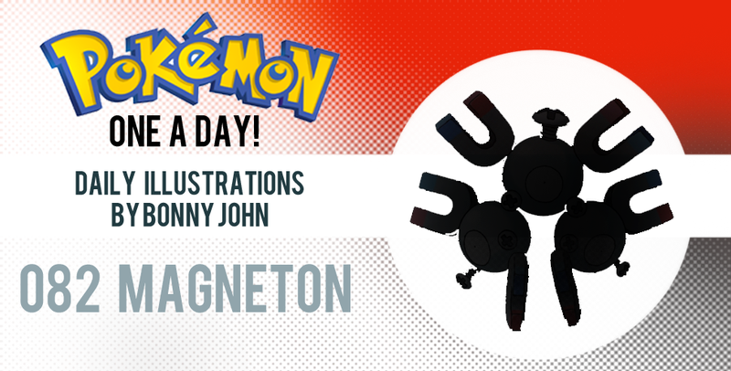 Illustration for article titled Make a Magneton!  Pokemon One a Day!