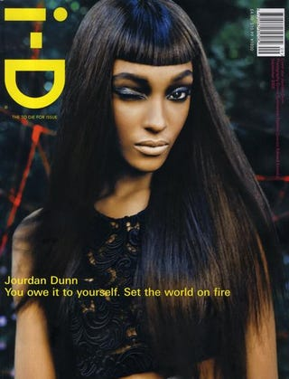 Illustration for article titled Jourdan Dunn Rules The Runway; Hairy Unibrows Give Us Nightmares