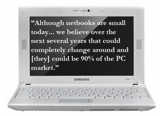 Illustration for article titled ARM's CEO Has Incredibly Inflated Expectations for Netbooks