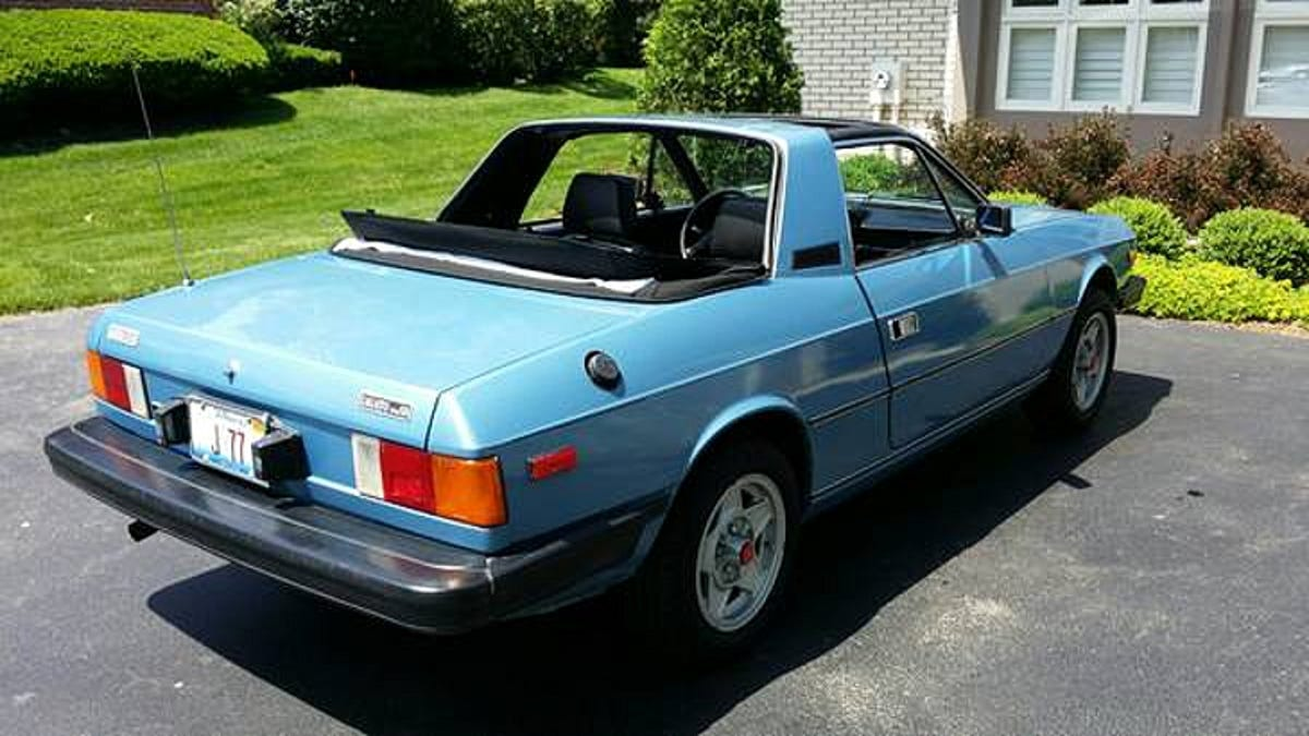 Could You Go 4500 For This 1982 Lancia Zagato