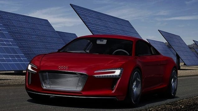audi r8 e tron concept is not an electric lightcycle. Black Bedroom Furniture Sets. Home Design Ideas