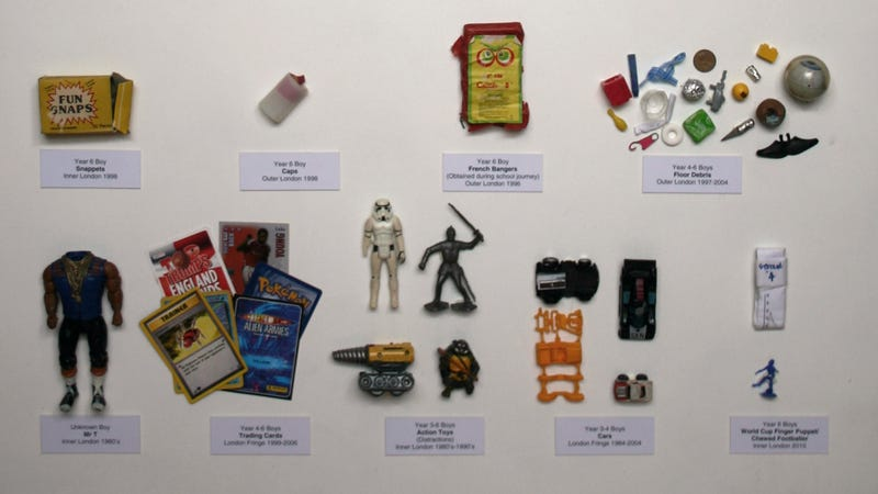 Illustration for article titled It's Only Mr. T! 30 Years Of Toys Confiscated From London Schools