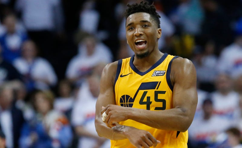 8af916ab67d5 Even A Hobbled Donovan Mitchell Won t Go Down Easily