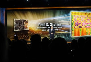 Illustration for article titled Paul Otellini CES Keynote: Chips Ahoy!