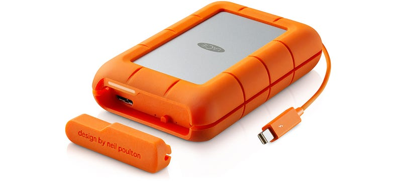Illustration for article titled LaCie's Rugged RAID Offers Extra Data Protection With Two Drives Inside