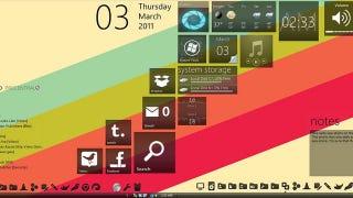 Illustration for article titled Windows Phone 7 Desktop