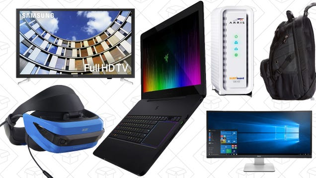 Save On Laptops, Monitors, Modems, and More From Amazon s One-Day Tech Sale