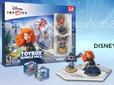 Illustration for article titled Disney Infinity 2.0 Start Set Featuring Merida And Stitch