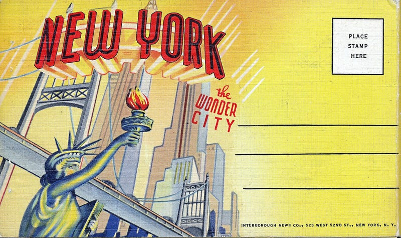 Illustration for article titled 12 Postcards From When NYC Was the Skyscraper Capital of the World