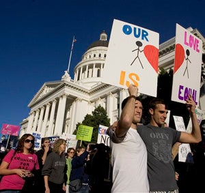 Illustration for article titled Prop 8 Challenge Moves Forward, Other People Screwed For Once