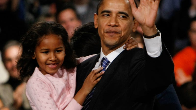 Saturday Night Social: Let's All Sigh Wistfully Over the Fact That Sasha Obama Is All Grown Up