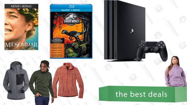Saturday s Best Deals: Flannels, PS4 Pro, 4K A24 Movies, and More