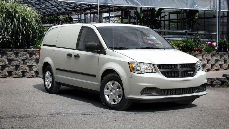Illustration for article titled Chrysler turns minivan into Ram Cargo Van