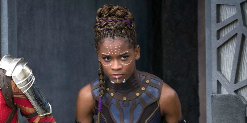 Letitia Wright as Shuri in Black Panther (Marvel)