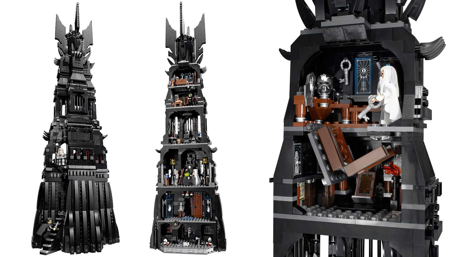 The New Lego Tower of Orthanc Is Simply Gigantabulous
