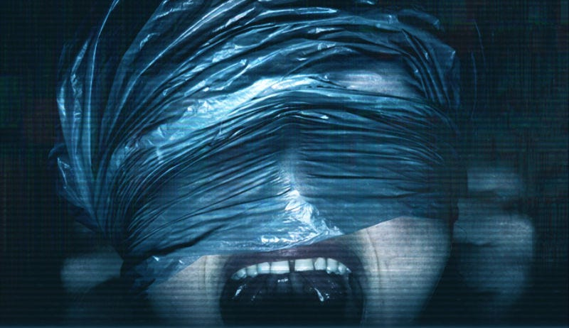 A terrifying crop of the poster for Unfriended: Dark Web.
