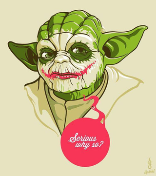 Illustration for article titled Yoda man!