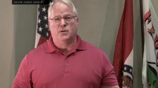 Screenshot of Ferguson, Mo., Police Chief Thomas Jackson during his videotaped apology.The Devin James Group