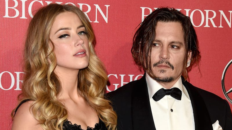 Illustration for article titled Johnny Depp Doesn't Want to Pay Amber Heard a Dime of Spousal Support