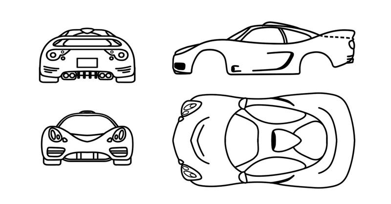 Illustration for article titled So I'm currently trying to design a car