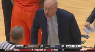 Illustration for article titled Jim Boeheim Costs Syracuse Bettors A Cover Against Duke