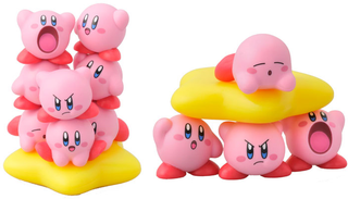 Illustration for article titled Kirby Figurine Set