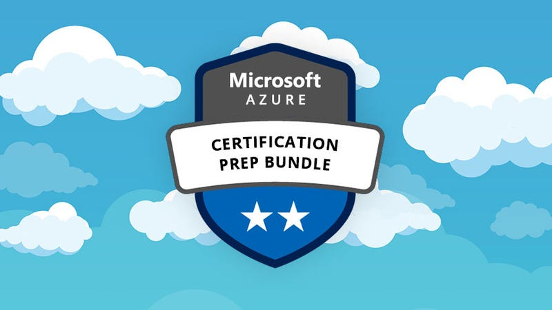 Illustration for article titled Save Hundreds On This Microsoft Azure Certification Prep Bundle ($16)
