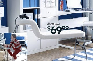 Illustration for article titled Ikea Gaming Chair Relieves Arms at the Price of Your Children