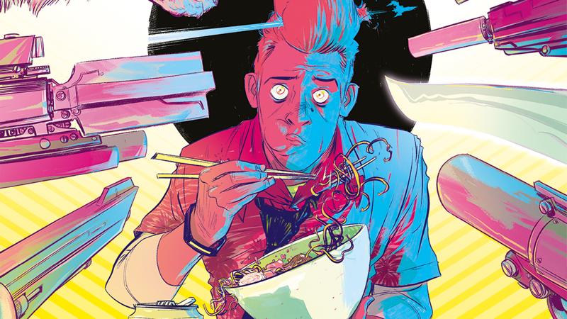 The Weatherman #1 main cover art.
