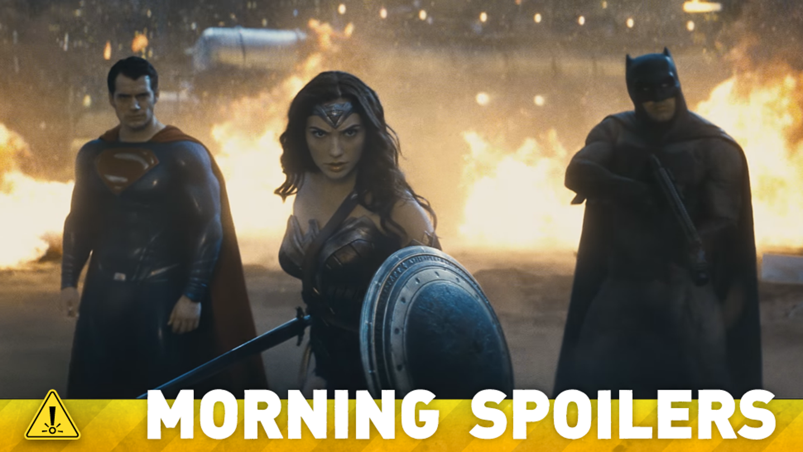 Here's How We'll Meet the Justice League In Batman v Superman