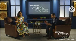 Kerry Washington and Aziz Ansari keep it real about whiteness in America on May 27, 2016.Screenshot