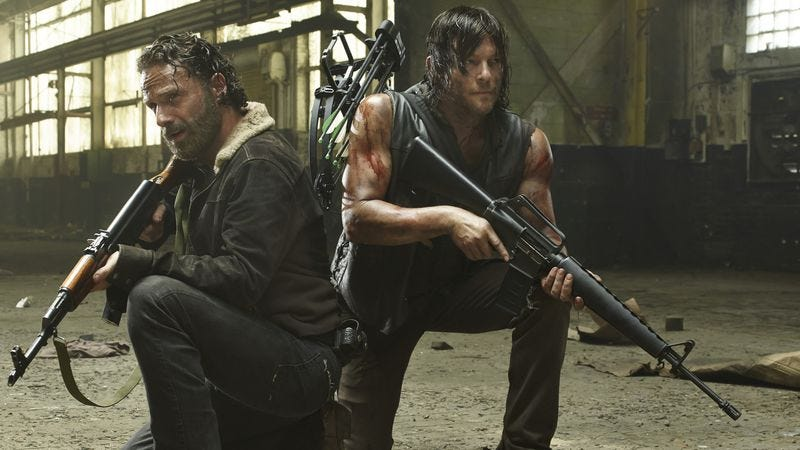 Illustration for article titled AMC apologizes for spoiling The Walking Dead finale