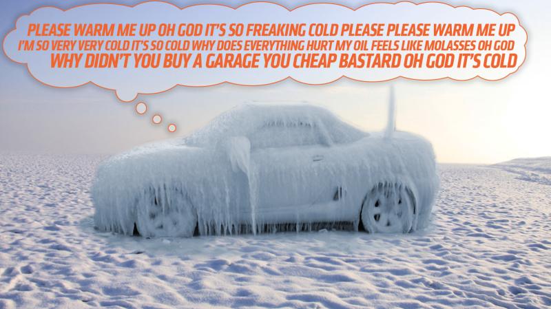 Illustration for article titled La verdadera razón por la que debes calentar el coche antes de comenzar un viaje cuando hace frío