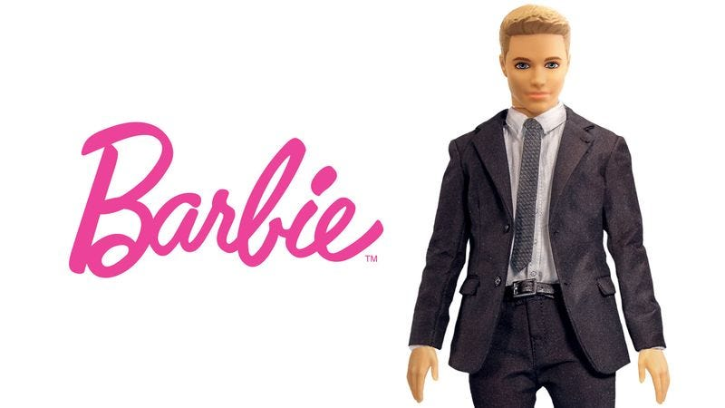 Mattel officials say girls will have fun imagining the new Barbie becoming the managing partner in a law firm or making an unimpeded climb up the corporate ladder.