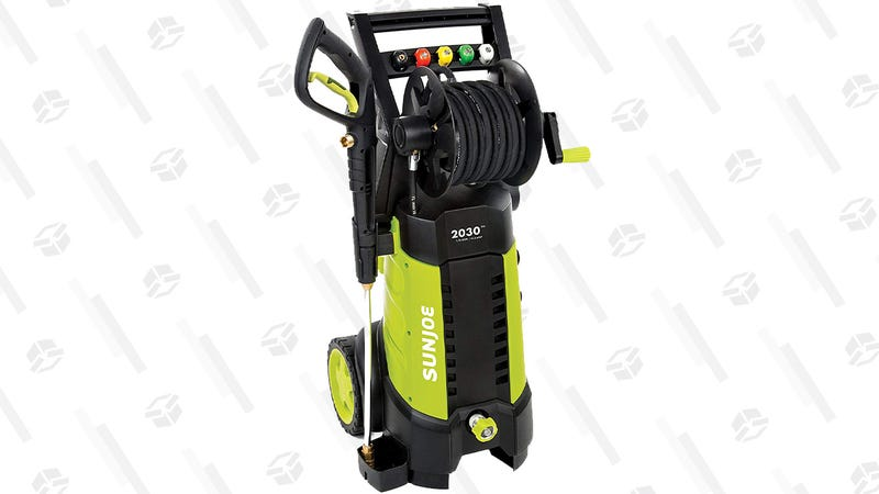 Sun Joe Electric Pressure Washer with Hose Reel | $119 | Amazon