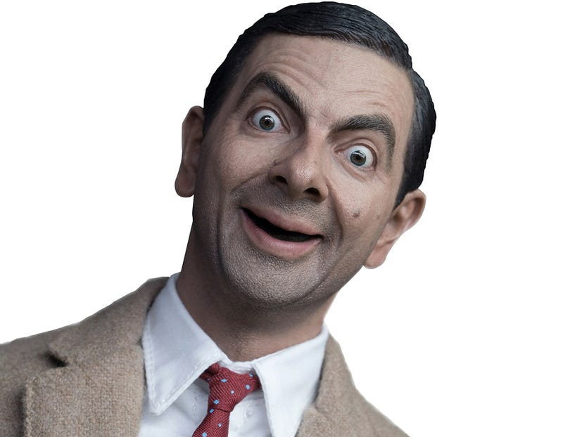 Illustration for article titled Somehow This Figure Looks More Like Mr. Bean Than Rowan Atkinson Does